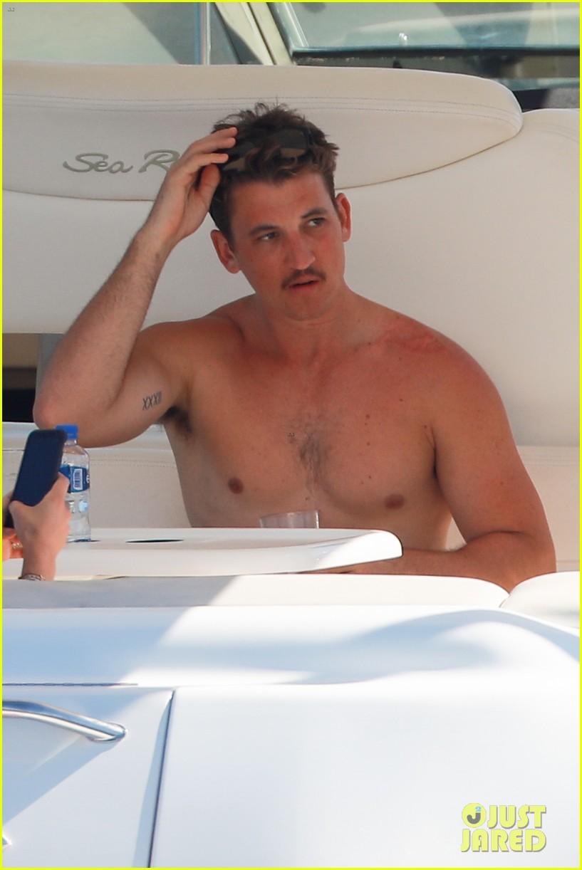 Teller nude miles Burt Reynolds