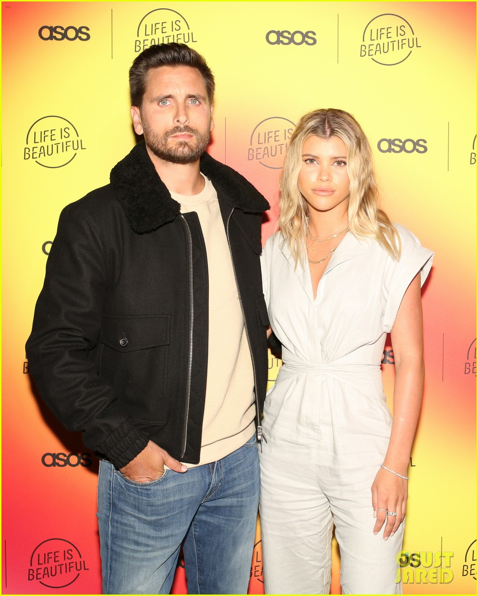 scott disick sofia richie couple up at asos life is beautiful launch party 184278091