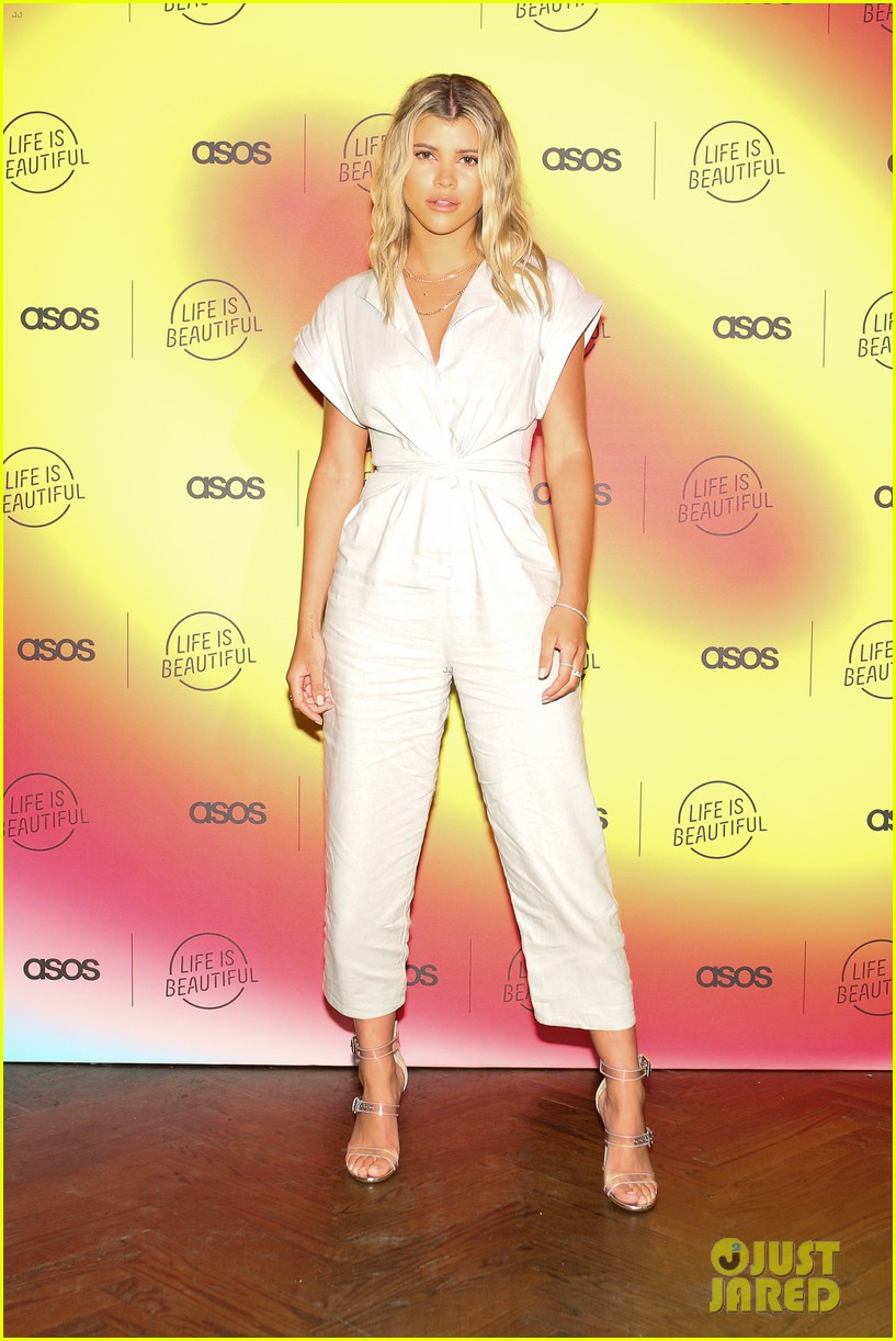 scott disick sofia richie couple up at asos life is beautiful launch party 344278107