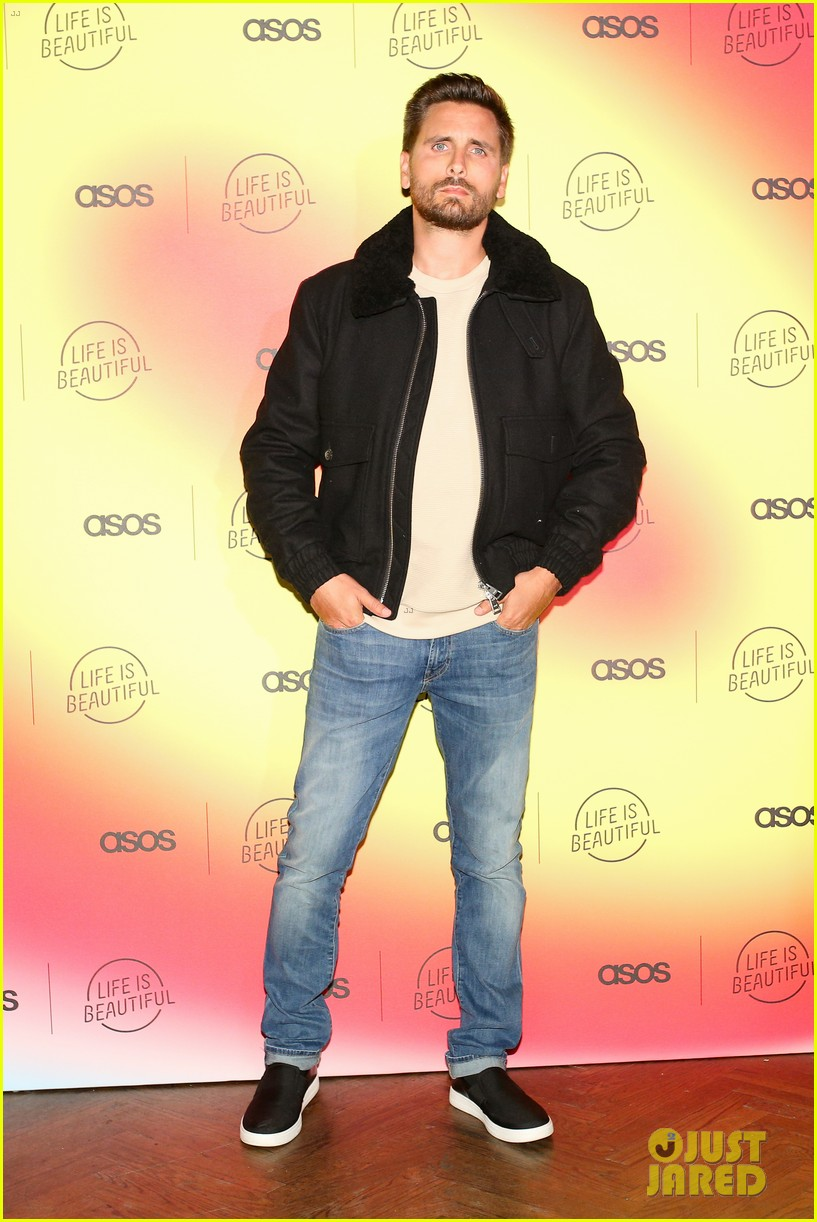 scott disick sofia richie couple up at asos life is beautiful launch party 374278110
