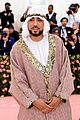 french montana attends 2019 met gala 02