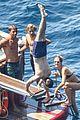 eddie redmayne does handstand on vacation 03
