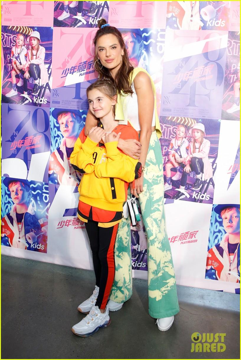 alessandra ambrosio coco rocha daughters china day anta kids fashion show 124348622