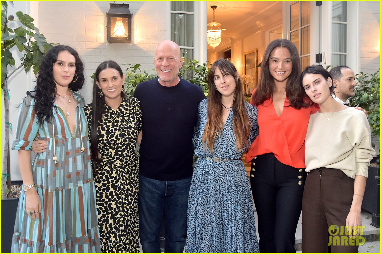 demi moore had the support of kids ex husband bruce willis inside out book launch 05