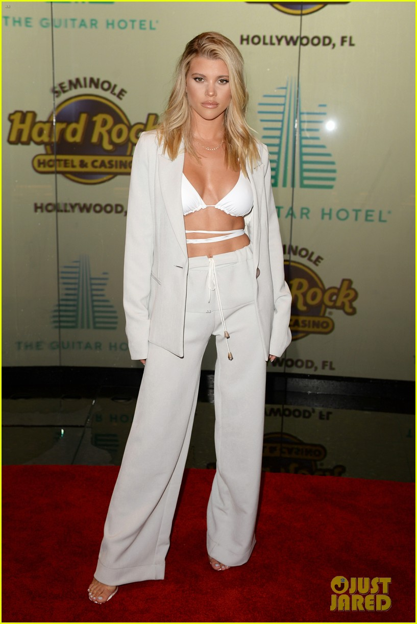 sofia richie scott disick hotel launch hard rock 054376677