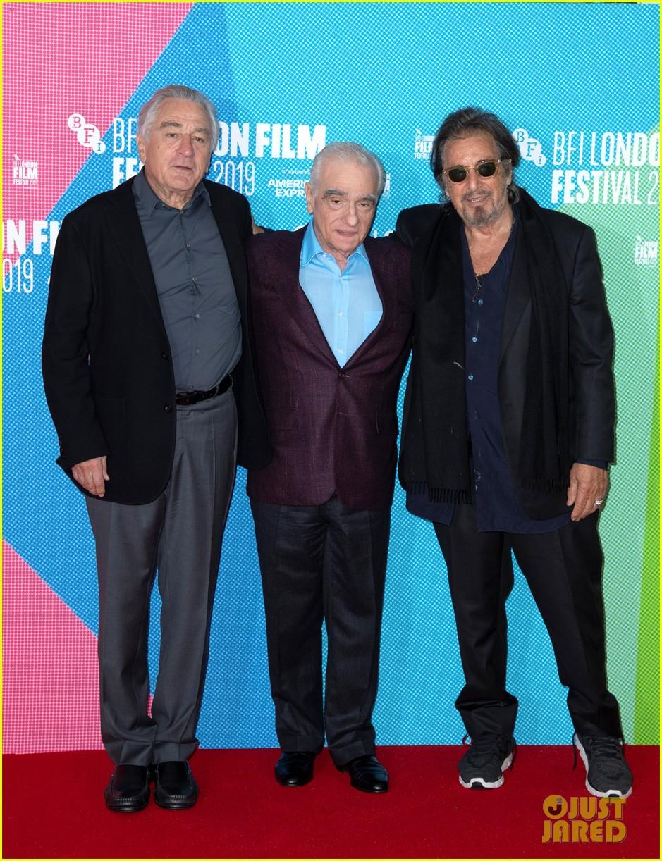 robert de niro martin scorsese al pacino the irshman bfi lond film festival 01