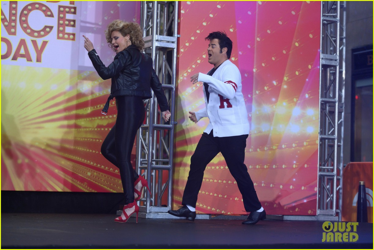 today show crew show off their moves as famous dancers for halloween 03