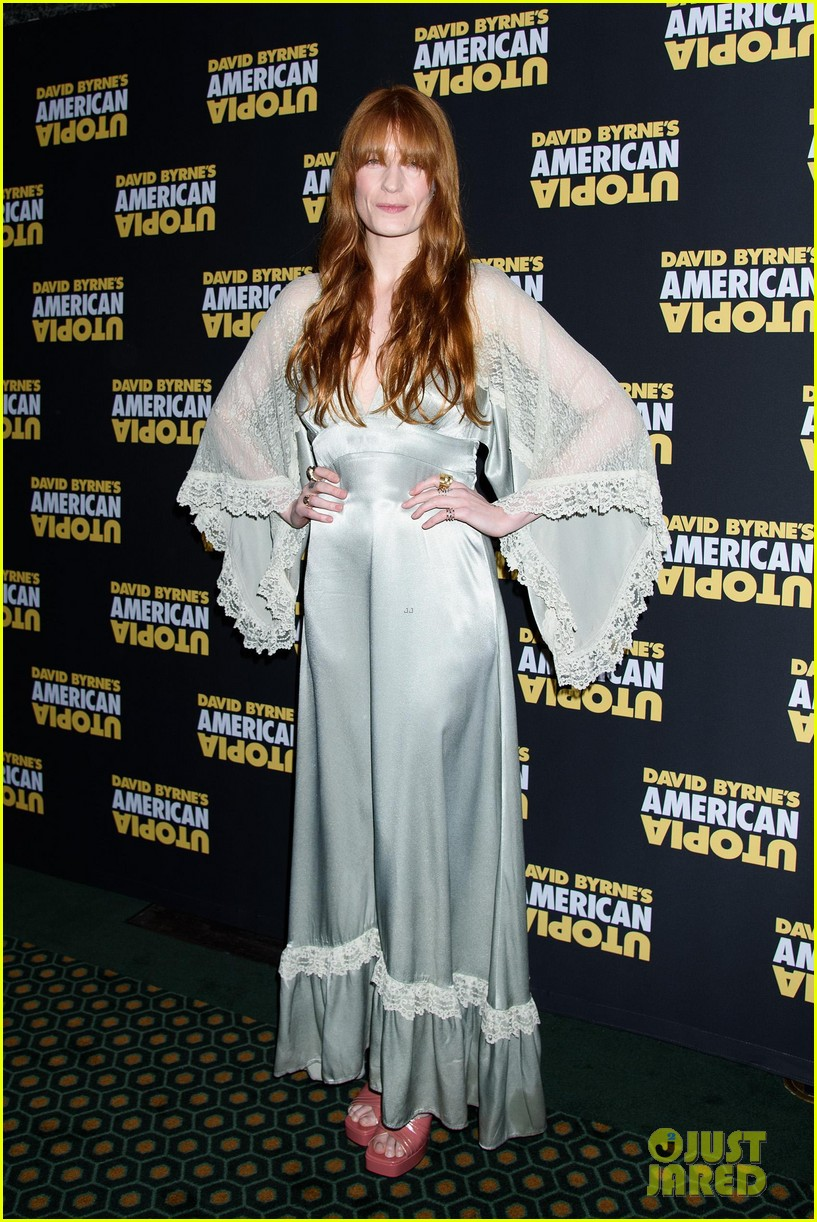 florence welch dazzles in silver american utopia opening night 014374431