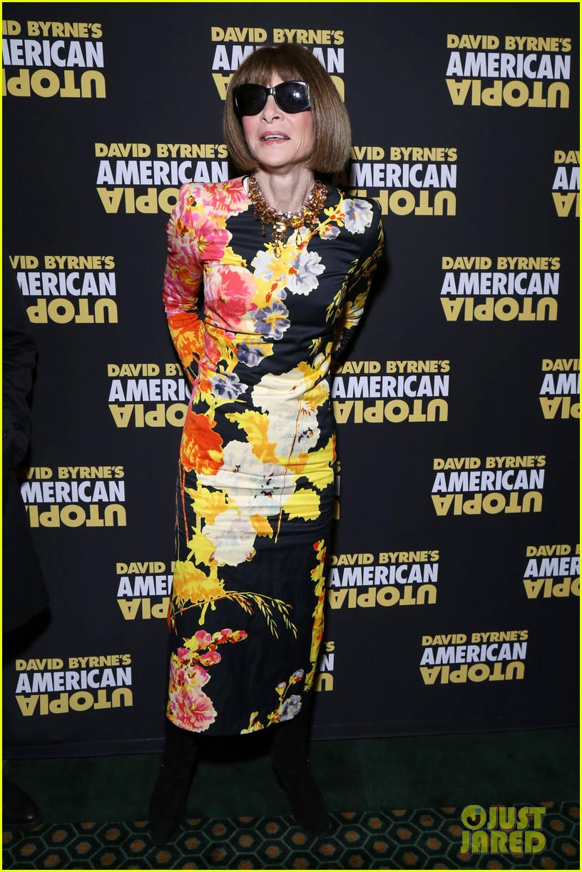 florence welch dazzles in silver american utopia opening night 154374445