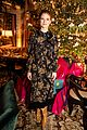 rose leslie ellie bamber tory burch holiday party 02