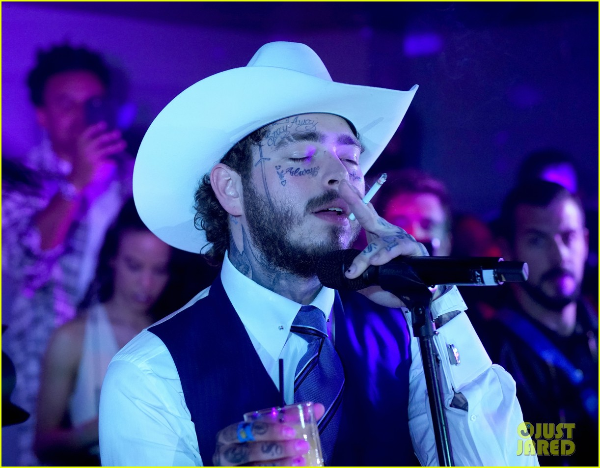 post malone lil nas x jon hamm more live it up at gqs men of the year party 2019 144399050
