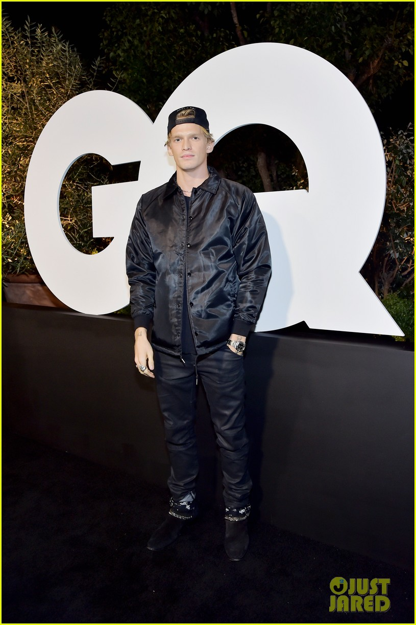 post malone lil nas x jon hamm more live it up at gqs men of the year party 2019 444399080
