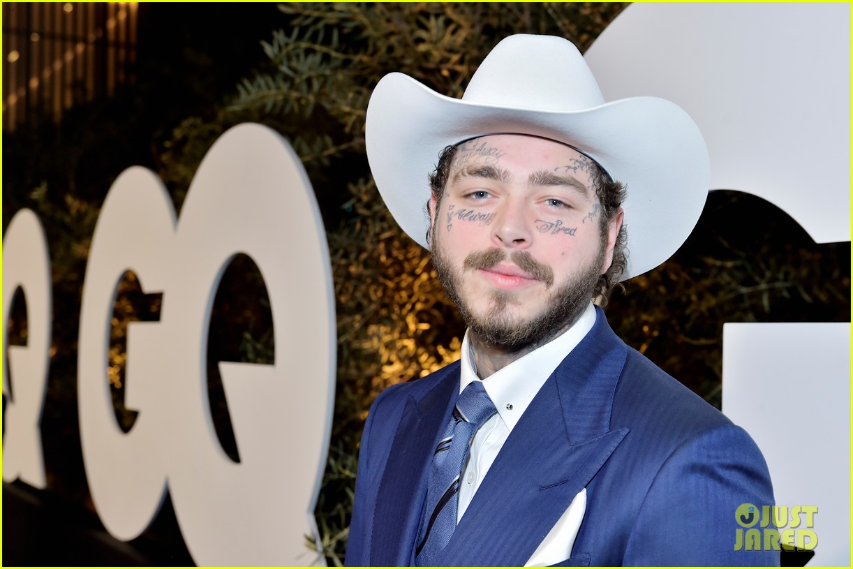 post malone lil nas x jon hamm more live it up at gqs men of the year party 2019 924399128