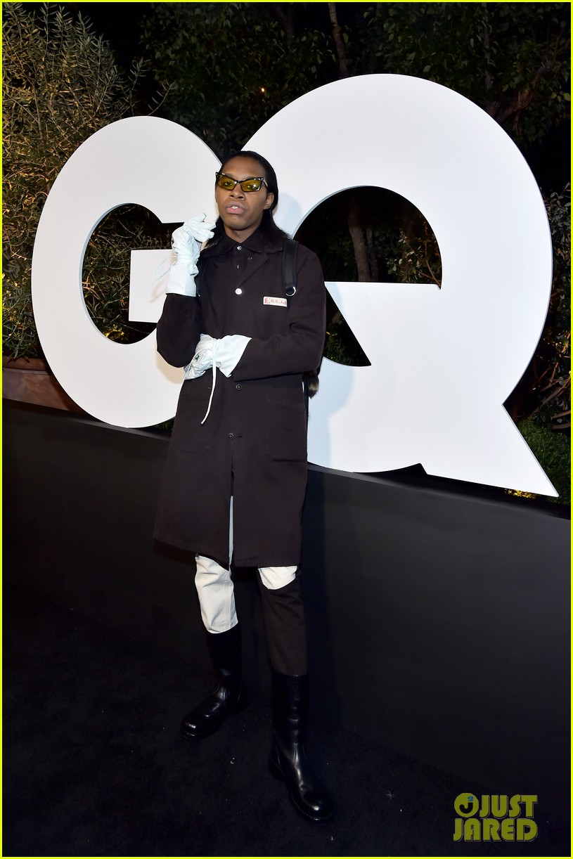 post malone lil nas x jon hamm more live it up at gqs men of the year party 2019 984399134