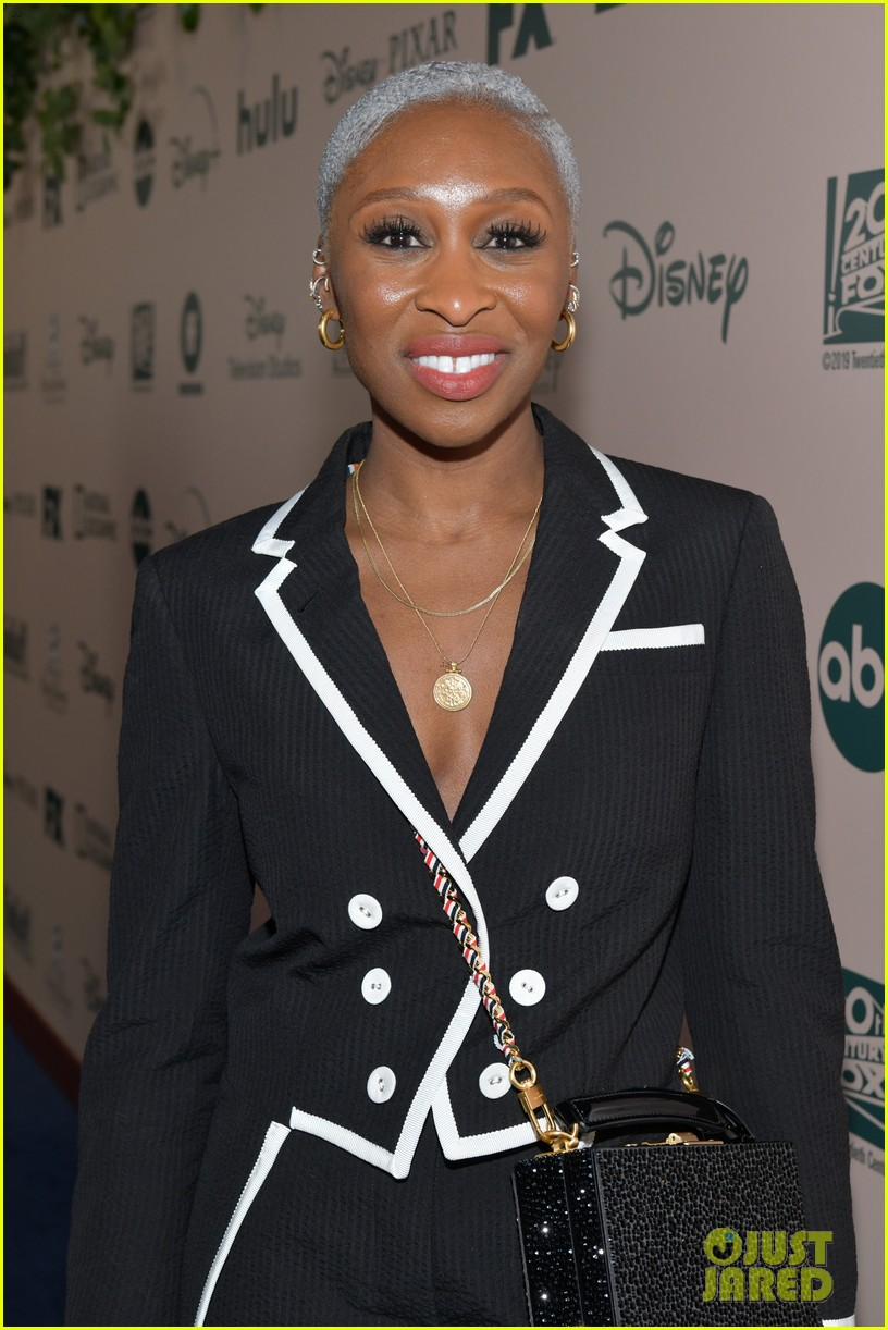 cynthia erivo hangs out with pal lena waithe golden globes after party 084411580