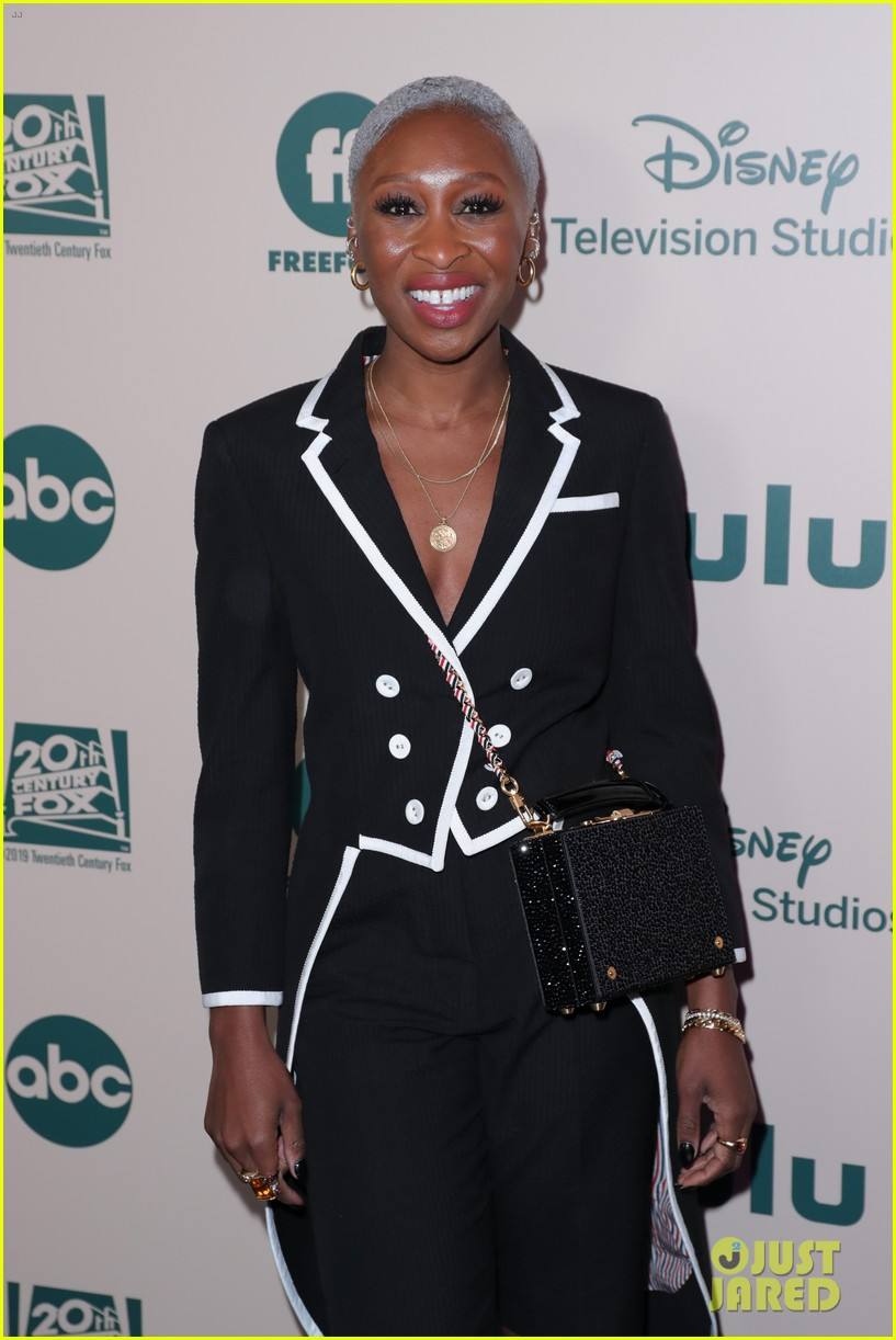 cynthia erivo hangs out with pal lena waithe golden globes after party 114411583