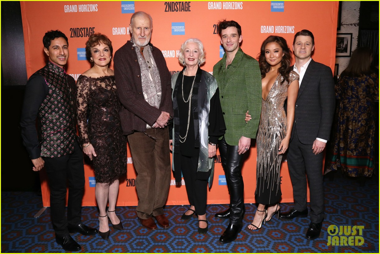 ben mckenzie gets support from wife morena baccarin at broadway debut in grand horizons 054421090