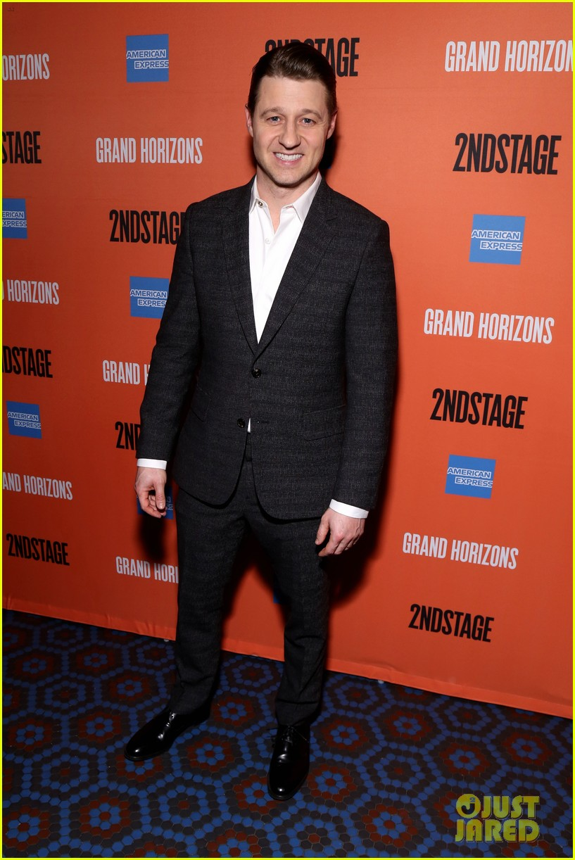 ben mckenzie gets support from wife morena baccarin at broadway debut in grand horizons 304421115