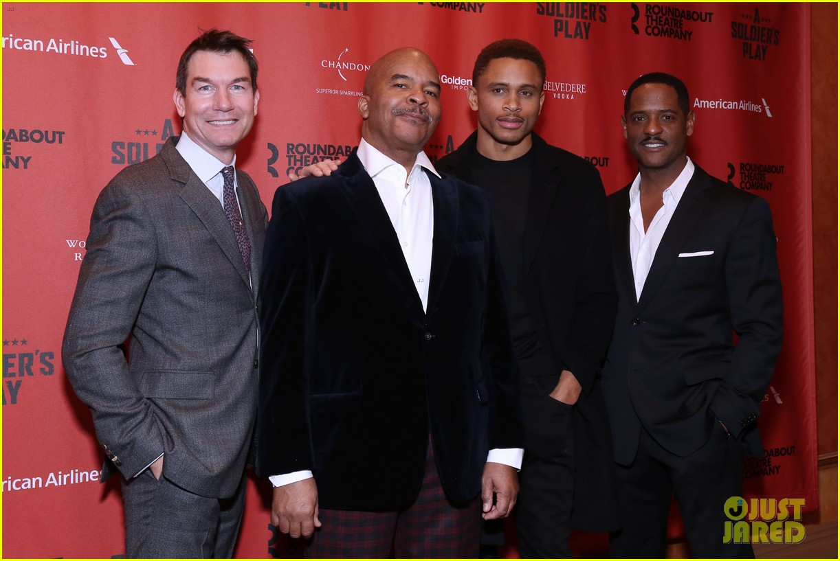 billy porter tony shalhoub more step out to support a soldiers play broadway opening 034420225