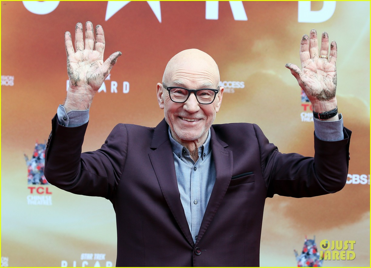 patrick stewart honored hand foot ceremony in hollywood 054415611