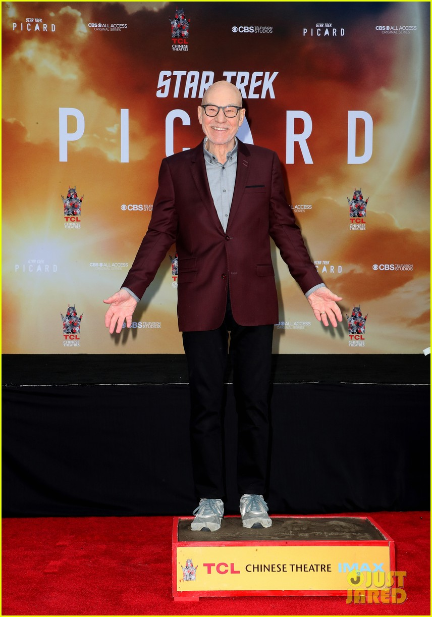 patrick stewart honored hand foot ceremony in hollywood 134415619