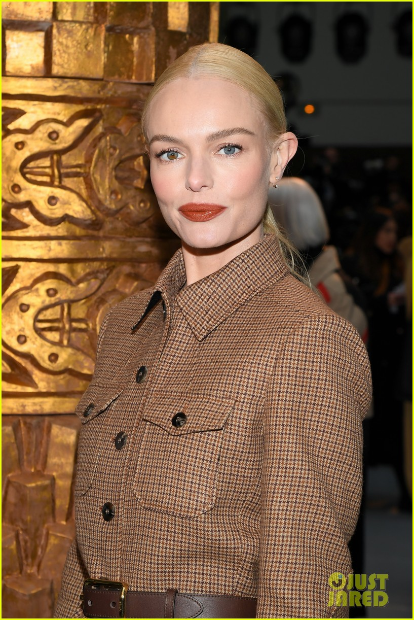 katie holmes lucy boynton kate bosworth sit front row at chloe paris fashion show 134442927