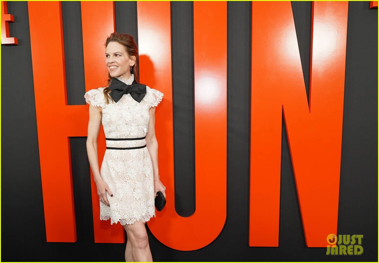 ethan suplee hunt premiere hilary swank betty gilpin more 094448088