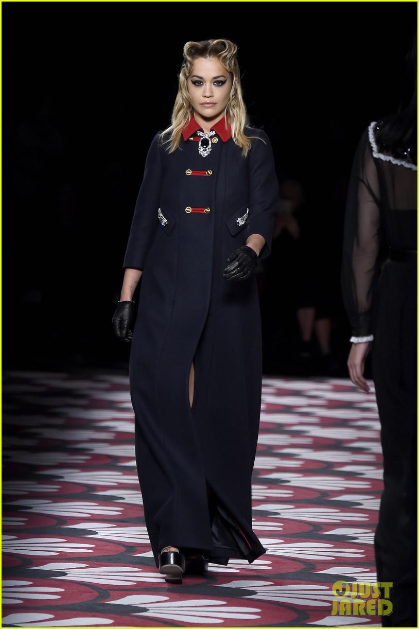lucy hale supports gigi bella hadid miu miu paris fashion week show 024445337