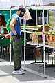 Photo 70 of Joel McHale Puts Buff Biceps on Display at the Farmer's Market