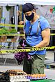 Photo 82 of Joel McHale Puts Buff Biceps on Display at the Farmer's Market