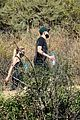 ashley benson g eazy hold hands hiking in the hills 25
