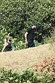 ashley benson g eazy hold hands hiking in the hills 27