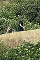 ashley benson g eazy hold hands hiking in the hills 31