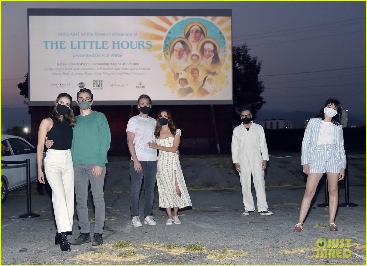 aubrey plaza jeff baena the little hours screening 014476591