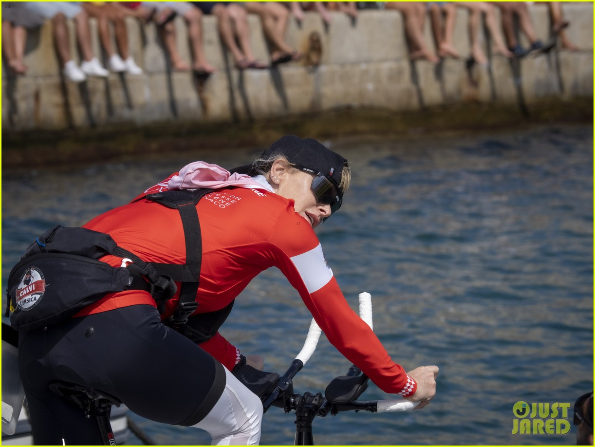 princess charlene monaco crossing challenge pics 294482917