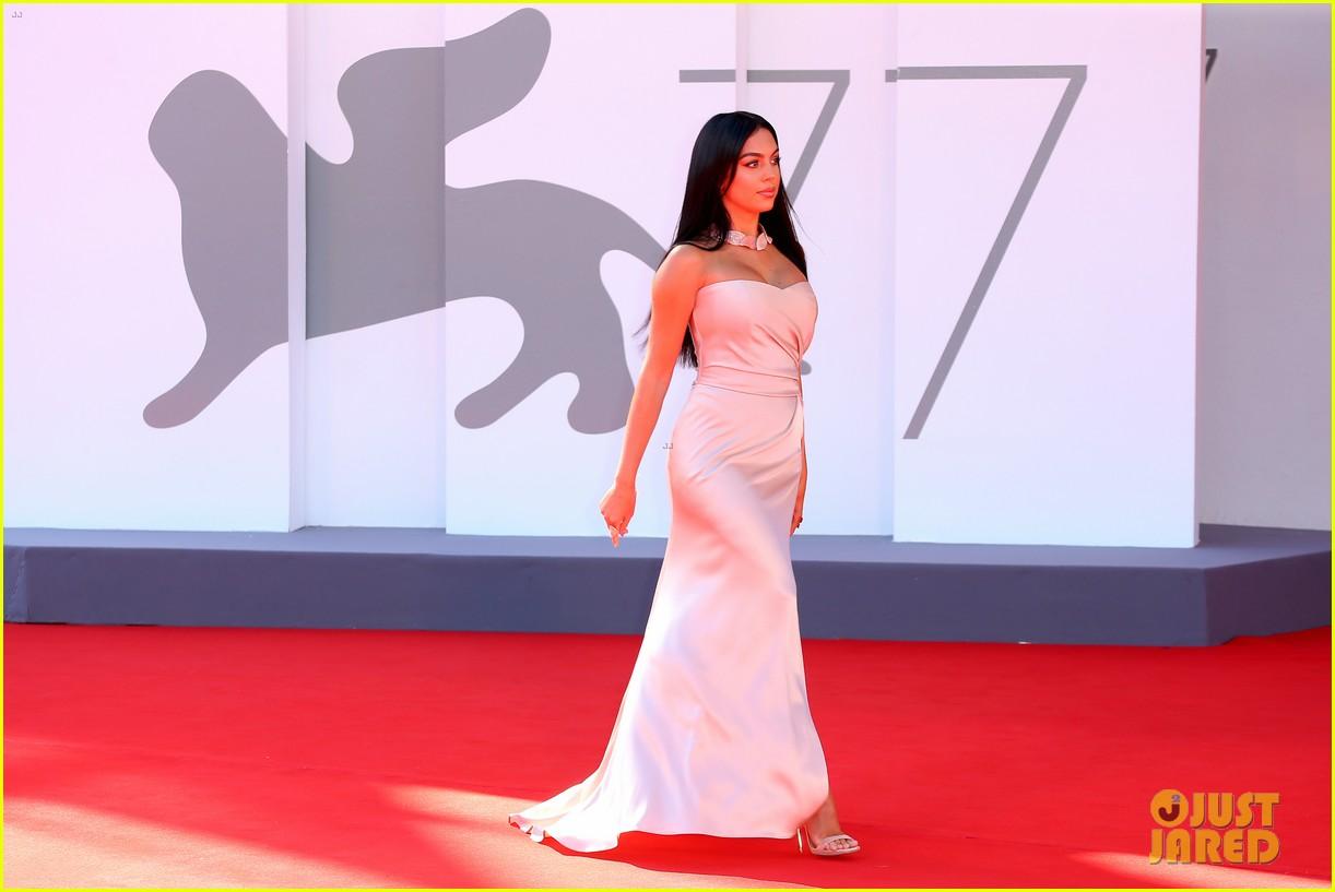 georgina rodriguez lots of leg venice film festival 264480049