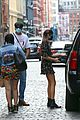 jacob elordi kaia gerber cover eyes nyc outing 09