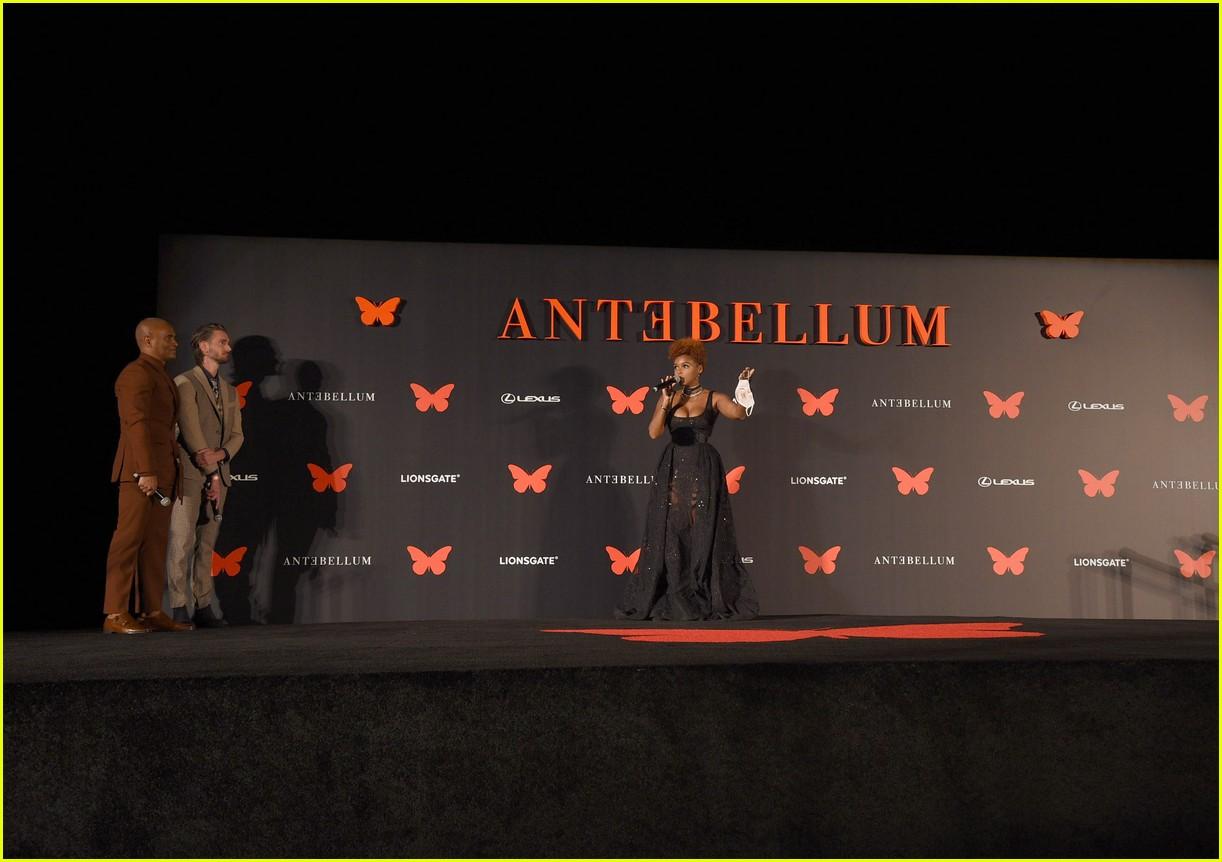janelle monae antebellum drive in premiere 344483586