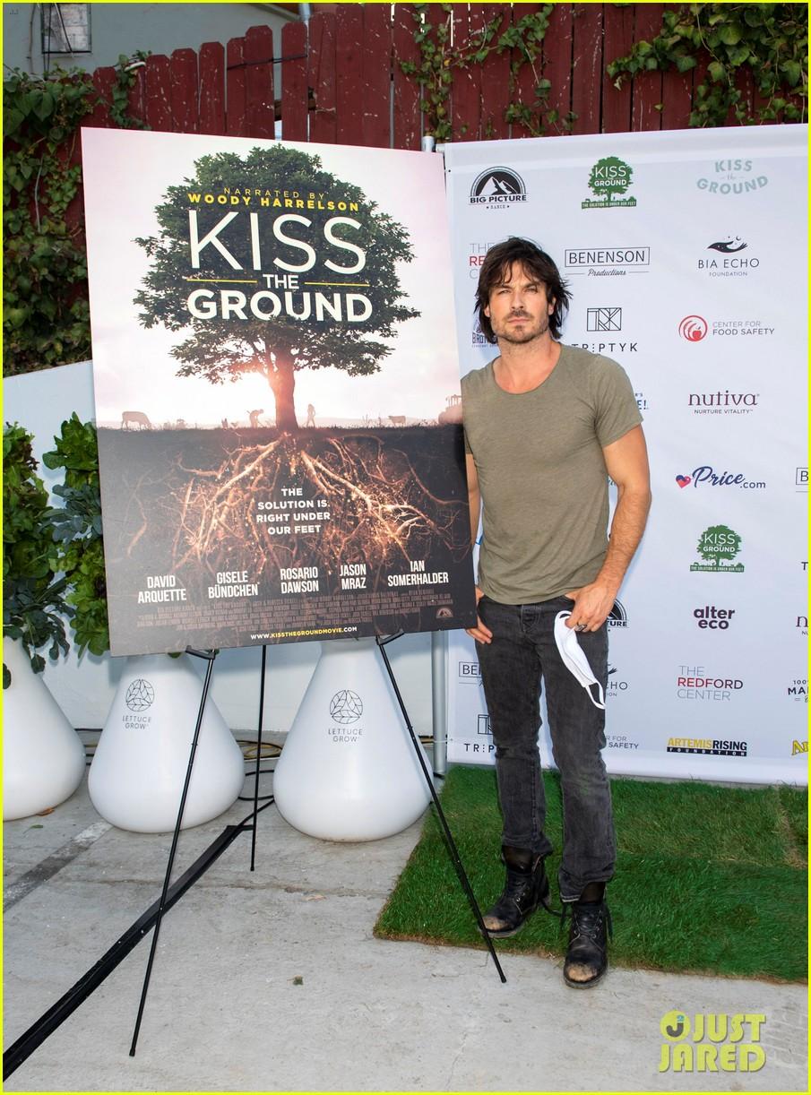 ian somerhalder kiss the ground premiere 224484613