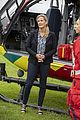 sophie wessex significant visit helicopter ambluence 01