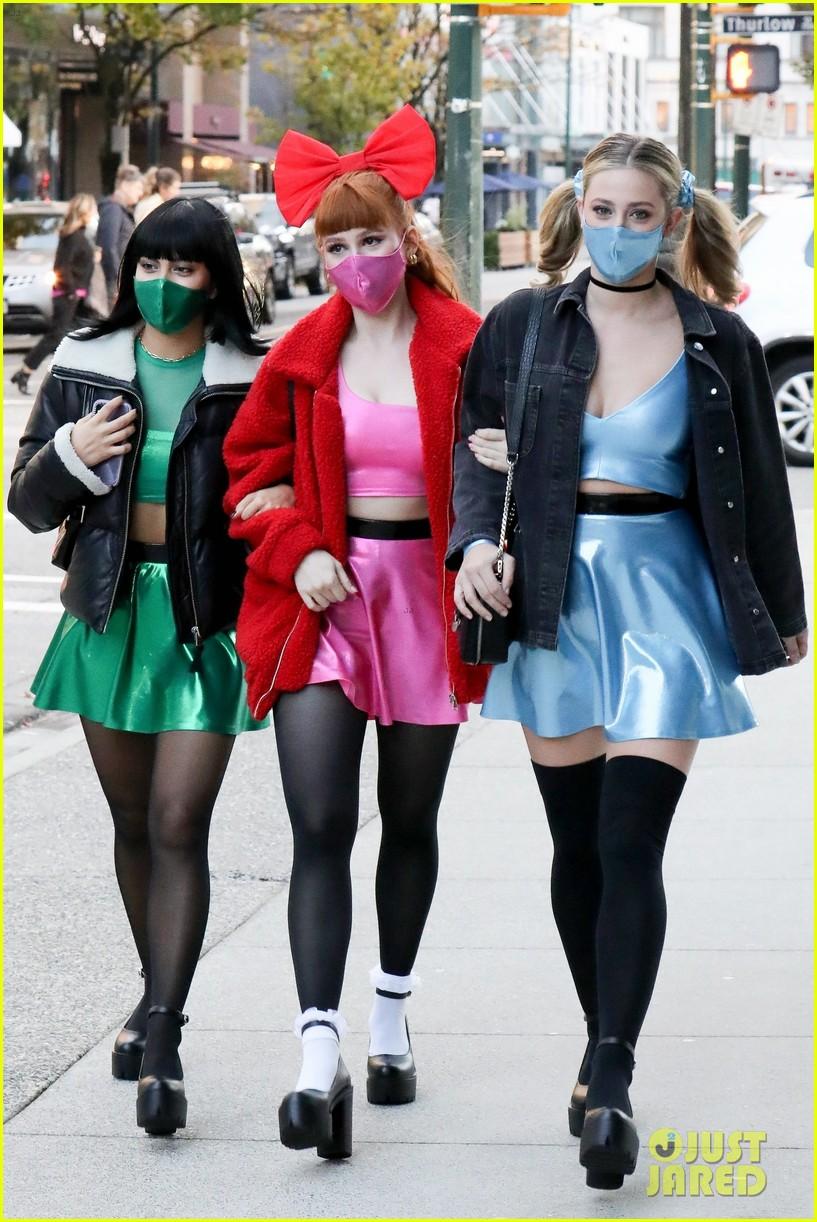 riverdale ladies powerpuff girls for halloween 014496930