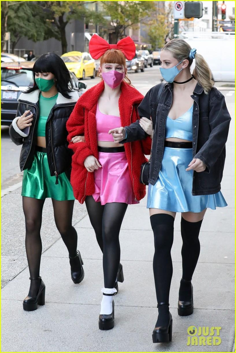 riverdale ladies powerpuff girls for halloween 024496931