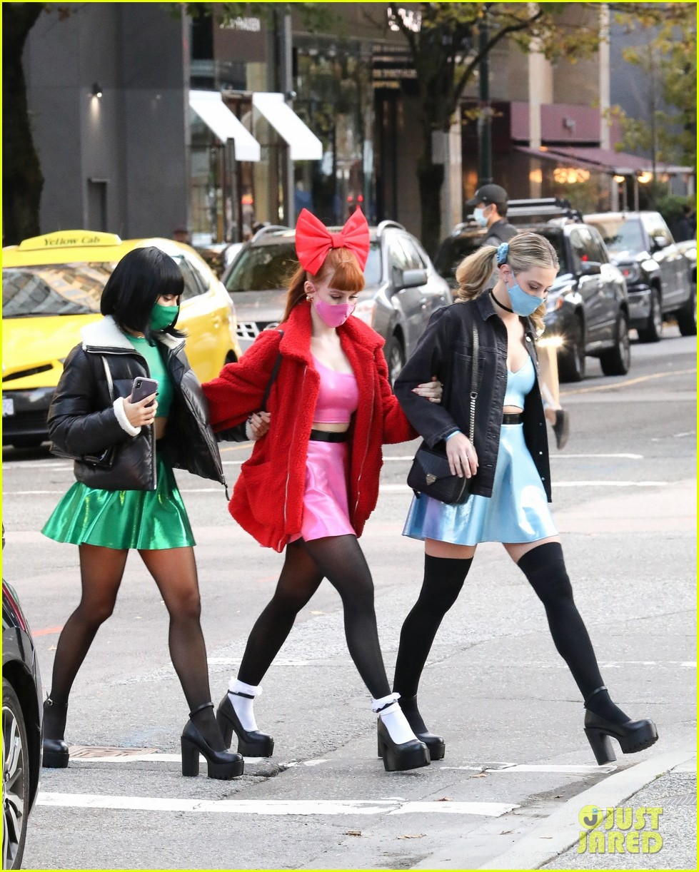riverdale ladies powerpuff girls for halloween 034496932