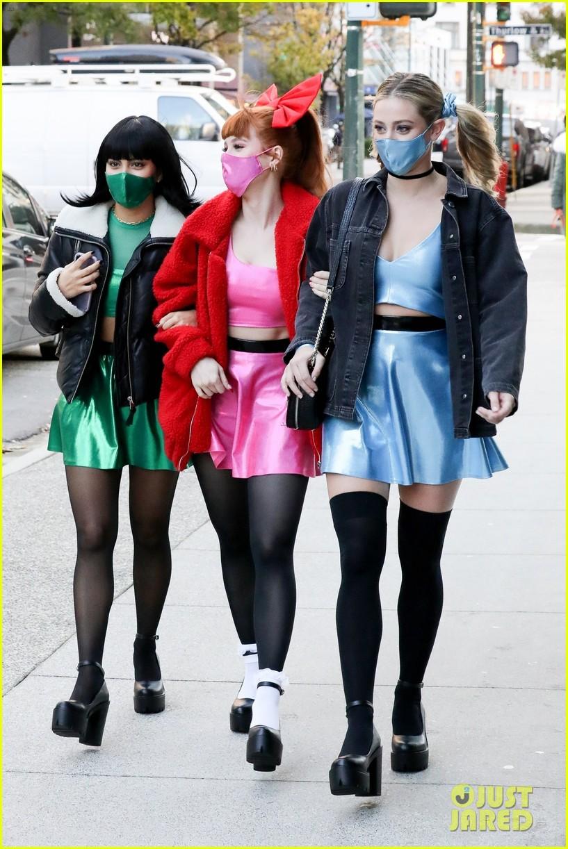 riverdale ladies powerpuff girls for halloween 104496939