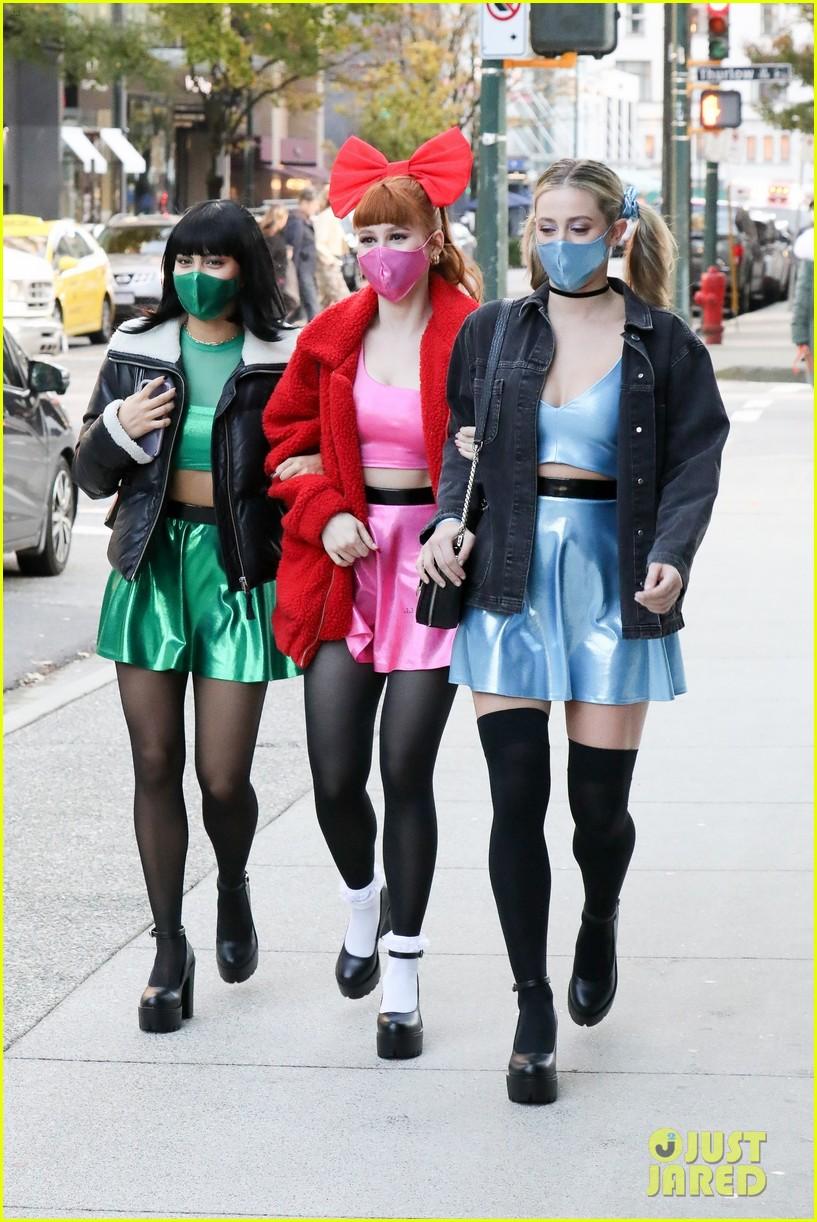 riverdale ladies powerpuff girls for halloween 124496941