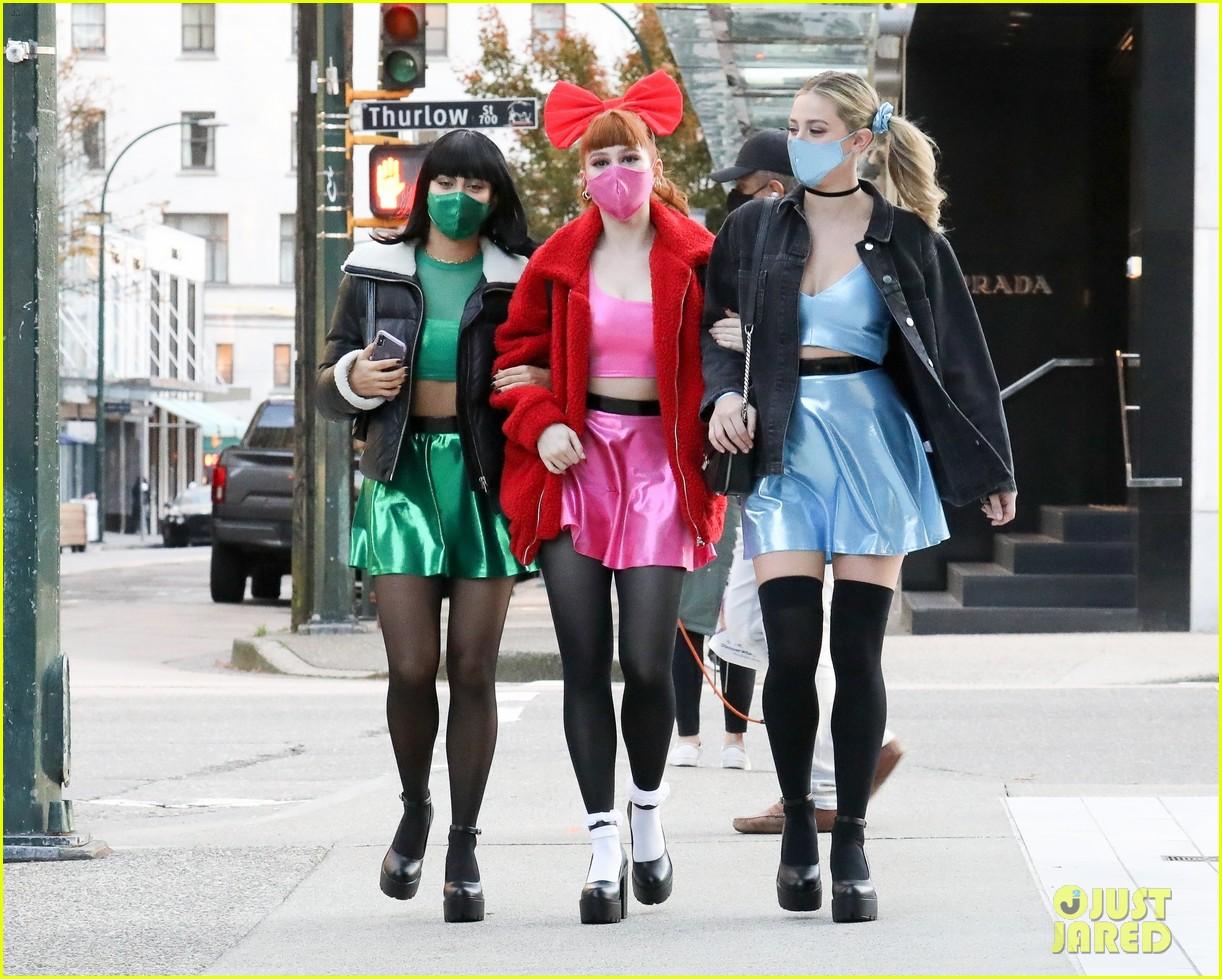 riverdale ladies powerpuff girls for halloween 154496944