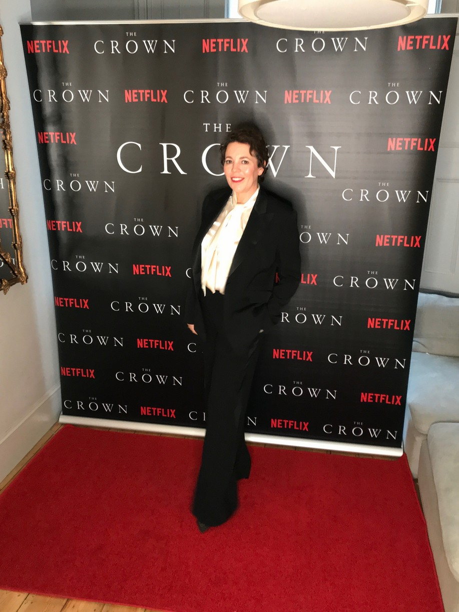 crown cast took own premiere pics at home lockdown 05