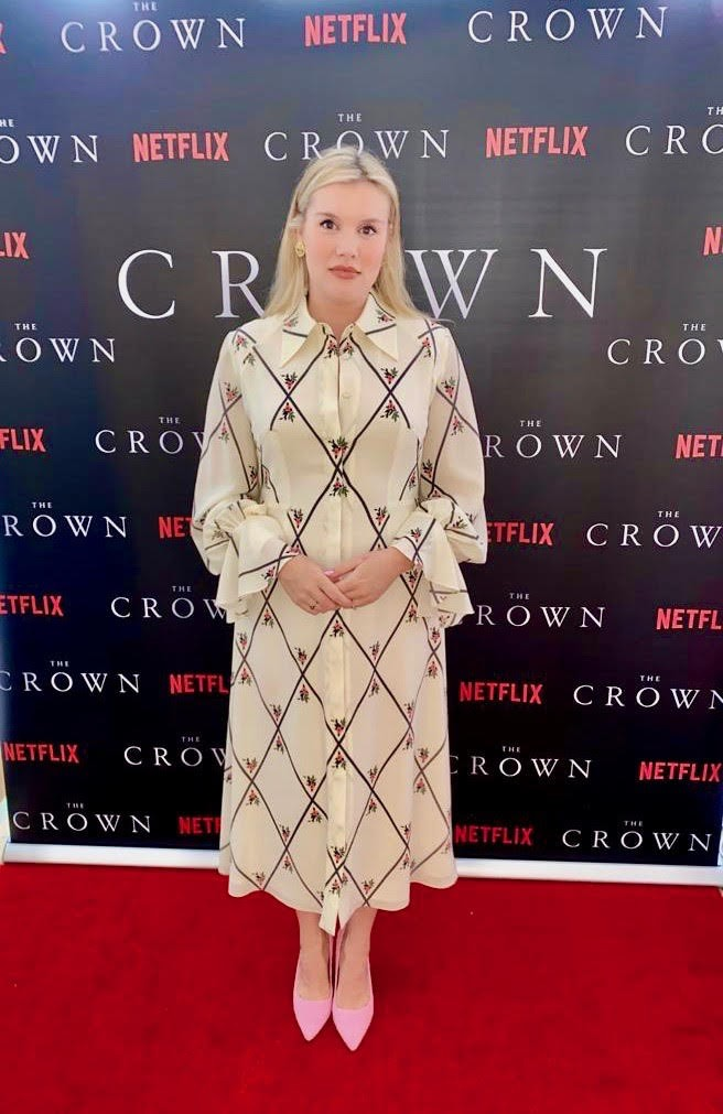 crown cast took own premiere pics at home lockdown 07