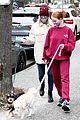 madelaine petsch lili reinhart dog walk vancouver 07