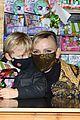 princess charlene monaco shaved half head gift distribution 03